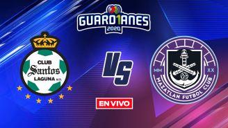 EN VIVO Y EN DIRECTO: Santos vs Mazatlán Guardianes 2020 J17
