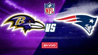 EN VIVO Y EN DIRECTO: Baltimore Ravens vs New England Patriots