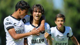 Querétaro Sub 17 en partido