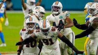 Los Miami Dolphins se llevaron la victoria