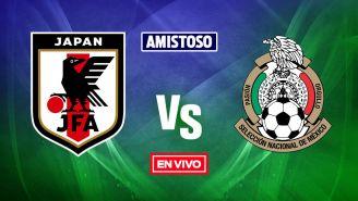 EN VIVO Y EN DIRECTO: Japón vs México Amistoso
