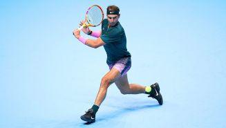 Nadal, en las Finales de la ATP 2020