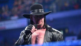 The Undertaker durante una función