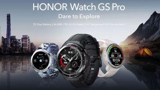 Promocional del smartwatch Honor GS Pro