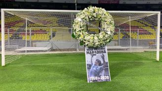 Maradona es recordado en el Colosos de Santa Úrsula