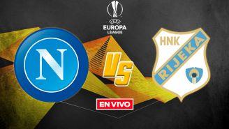 EN VIVO Y EN DIRECTO: Napoli vs Rijeka