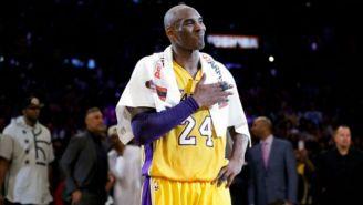 Kobe Bryant durante un partido con los Lakers