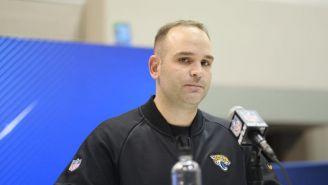 Dave Caldwell, molesto en conferencia de prensa