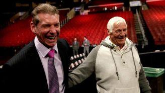 Vince McMahon y Pat Patterson juntos