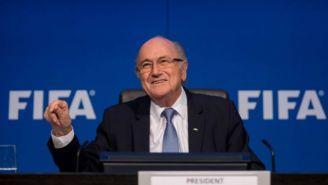 Blatter en conferencia de prensa