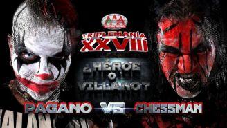 Pagano y Chessman será la lucha estelar
