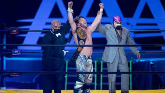 Kenny Omega retuvo su Megacampeonato de AAA