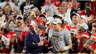 Chiefs en festjeo del Super Bowl 2020