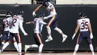 Bears en festejo de TD
