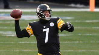 Ben Roethlisberger en un partido de los Steelers