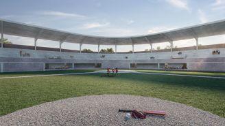 Panorámica de cómo quedaría el Estadio de las Guacamayas de Palenque