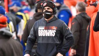 Browns: Kevin Stefanski regresó a instalaciones del equipo tras superar el Covid-19