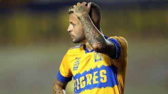Tigres: Diente López lesionado, no jugará ante Santos