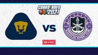 EN VIVO Y EN DIRECTO: Pumas vs Mazatlán FC Guardianes 2021 J2