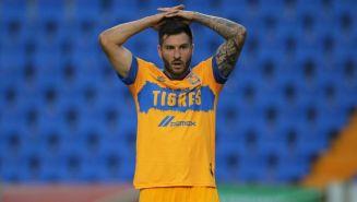 André-Pierre Gignac en lamento con Tigres