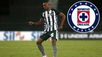 Kanu en acción con Botafogo