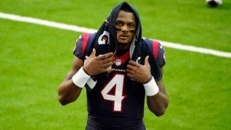 Deshaun Watson tras un partido con los Texans