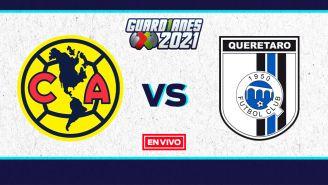 EN VIVO Y EN DIRECTO: América vs Querétaro Guardianes 2021 J6