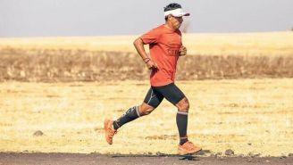 Germán Silva, durante un entrenamiento