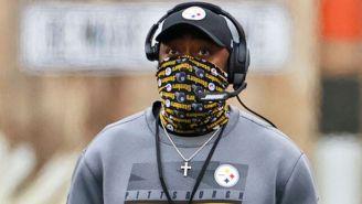 El coach de Pittsburgh durante un partido