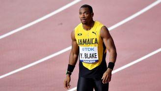 Yohan Blake en el Campeonato Mundial de Atletismo en Doha 2019