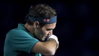 Federer en un evento en México