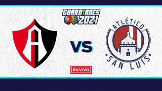 EN VIVO Y EN DIRECTO: Atlas vs San Luis Guardianes 2021 J9