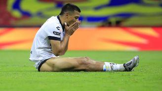 Ángel Sepúlveda se lamenta tras una falla