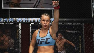 Julija Stoliarenko en pelea