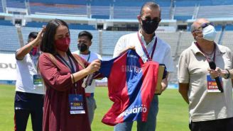Homenaje a Gerardo Valtierra en el Estadio Ciudad de los Deportes