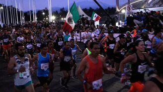 Corredores en el último Maratón de la Ciudad de México