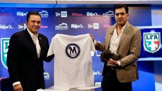 Alejandro Jaimes (I) en el regreso de los Mayas a la LFA