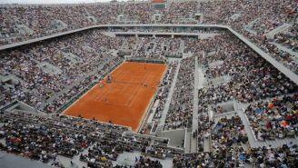 La cancha central de Roland Garros