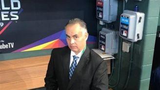 Video: Cronista de beisbol renunció en plena transmisión