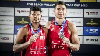 Rubio y Gaxiola con la medalla de plata en el Tour Mundial de Voleibol