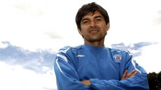 Denis Caniza con Cruz Azul