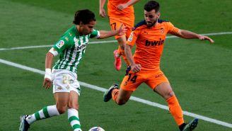 Diego Lainez: Betis empató con Valencia y se rezagó en la lucha por un puesto europeo