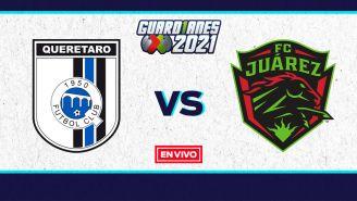EN VIVO Y EN DIRECTO: Querétaro vs Juárez Guardianes 2021 J16