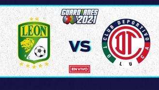 EN VIVO Y EN DIRECTO: León vs Toluca Guardianes 2021 Repechaje