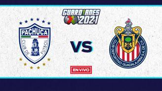 EN VIVO Y EN DIRECTO: Pachuca vs Chivas Liga MX 2021 Repechaje
