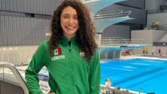 Gabriela Agúndez, tras una competencia