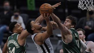 Acciones entre Spurs y Bucks