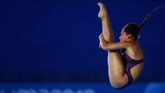 Gabriela Agúndez en competición
