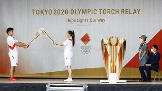 La llama de los Juegos Olímpicos de Tokio