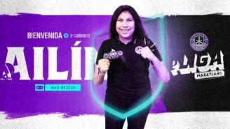 Ailín es la nueva jugadora de Mazatlán FC
